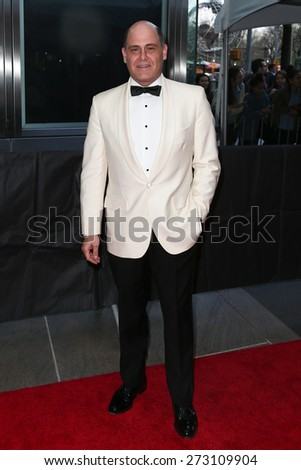 NEW YORK-APR 21: Creator of AMC's 'Mad Men' Matthew Weiner attends the 2015 Time 100 Gala at Frederick P. Rose Hall, Jazz at Lincoln Center on April 21, 2015 in New York City. - stock photo