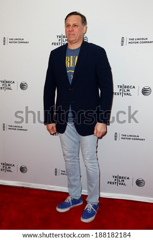 "NEW YORK-APR 18: Real Estate Investor/philanthropist Craig M. Hatkoff attends the ""Alex of Venice"" premiere at the SVA Theatre during the 2014 TriBeCa Film Festival on April 18, 2014 in New York City. - stock photo"