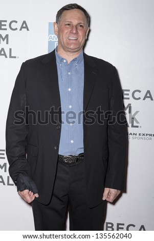 NEW YORK - APRIL 17: Craig Hatkoff attends 'Mistaken For Strangers' Opening Night Premiere during the 2013 Tribeca Film Festival  on April 17, 2013 in New York - stock photo