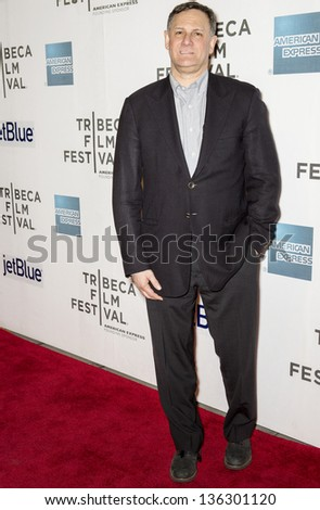 "NEW YORK - APRIL 22: Tribeca Film Festival Co-Founder Craig M. Hatkoff attends World Premiere of ""Reluctant Fundamentalist"" during the 2013 Tribeca Film Festival on April 22, 2013 in New York - stock photo"