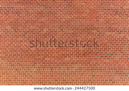New York brickwall brick wall red texture pattern background - stock photo