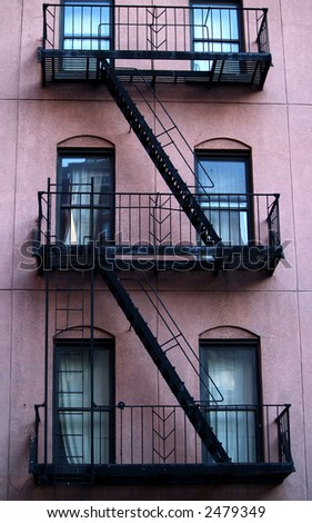 New York Building - stock photo