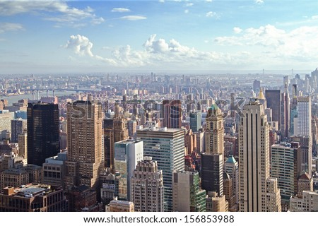 New York city, abstract urban background