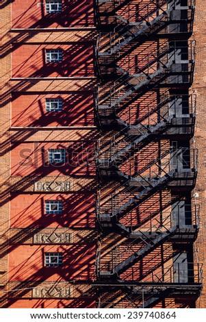 New York City Apartments - stock photo