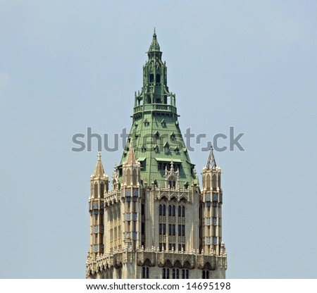 New York City Building Top