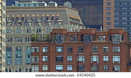 New York City Buildings - stock photo