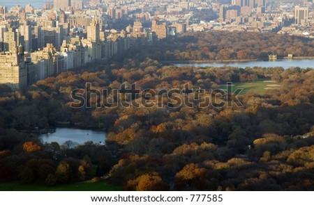 New York City Central Park - stock photo