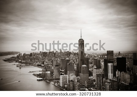 Nyc Skyline Black And White Stock Images RoyaltyFree Images