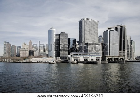 New York City - Manhattan | Panorama Skyline