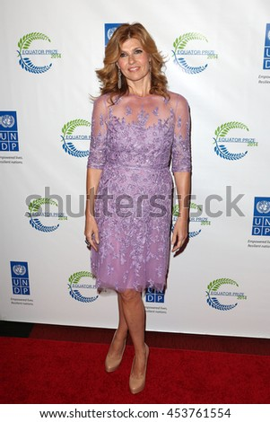 New York City, New York, USA; September 22, 2014;  Connie Britton arrives to the United Nation's Equator Prize in New York City.