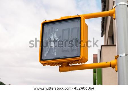NEW YORK CITY street signs  - stock photo