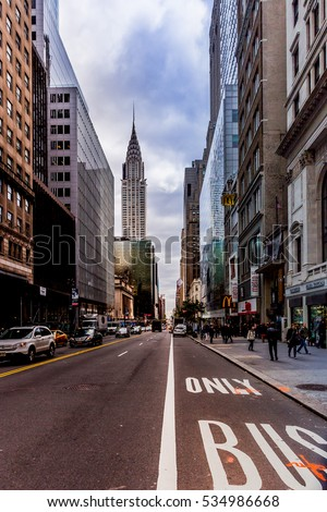New York Street View Stock Images RoyaltyFree Images Vectors