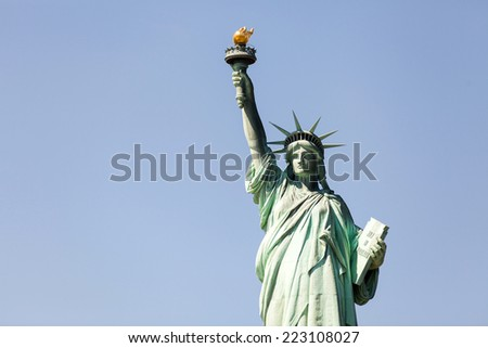 new york city: the statue of liberty, an american symbol