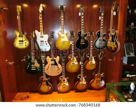 guitar center stock images royalty free images vectors shutterstock. Black Bedroom Furniture Sets. Home Design Ideas