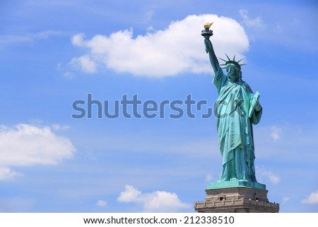 New York City, United States - Statue of Liberty.