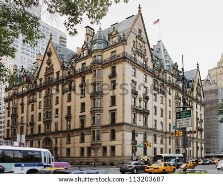 Dakota building stock images royalty free images for New york upper west side apartments