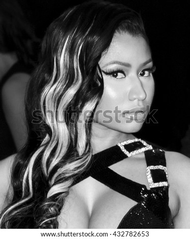 New York City, USA - May 2, 2016: Nicki Minaj attends the Manus x Machina Fashion in an Age of Technology Costume Institute Gala at the Metropolitan Museum of Art