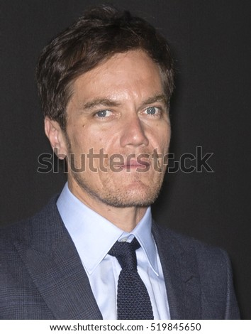 New York City, USA - November 17, 2016: Actor Michael Shannon attends the 'Nocturnal Animals' New York premiere held at The Paris Theatre