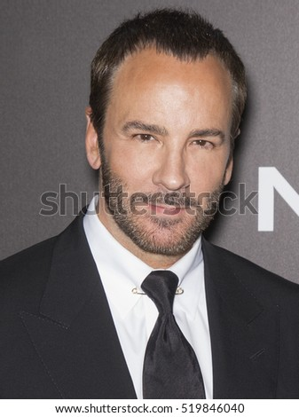 New York City, USA - November 17, 2016: Writer-director Tom Ford attends the 'Nocturnal Animals' New York premiere held at The Paris Theatre