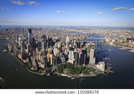 New York Civilization - stock photo