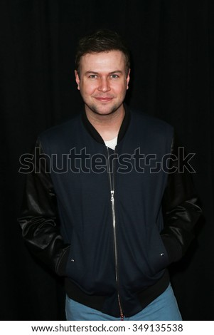 """NEW YORK-DEC 8: Actor Taran Killam attends the premiere of """"Sisters"""" at the Ziegfeld Theatre on December 8, 2015 in New York City. - stock photo"""