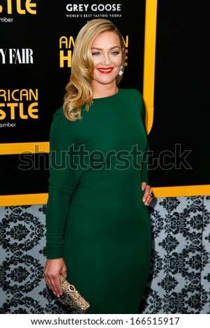 "NEW YORK-DEC 8: Actress Elisabeth Rohm attends the ""American Hustle"" premiere at the Ziegfeld Theatre on December 8, 2013 in New York City."