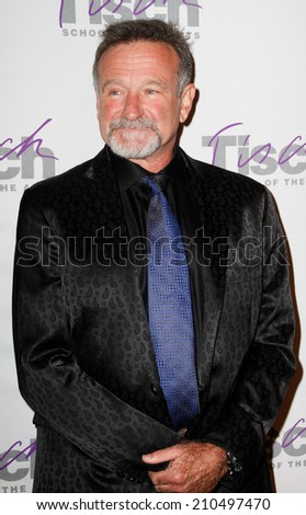 NEW YORK-DEC 6: Comedian Robin Williams attends the Face of Tisch Gala at Frederick P. Rose Hall, Jazz at Lincoln Center on December 6, 2010 in New York City. - stock photo