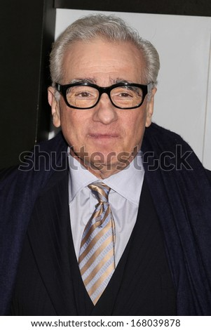 "NEW YORK - DEC 17: Martin Scorsese attends the premiere of ""The Wolf Of Wall Street"" at the Ziegfeld Theater on December 17, 2013 in New York City."
