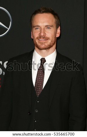 "NEW YORK-DEC 13: Michael Fassbender attends the screening of ""Assassin's Creed"" at AMC Empire on December 13, 2016 in New York City."