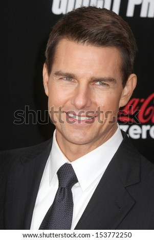 "NEW YORK - DEC 19:  Tom Cruise attends the premiere of ""Mission: Impossible - Ghost Protocol"" at the Ziegfeld Theatre on December 19, 2011 in New York City. - stock photo"