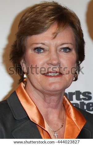 NEW YORK-DEC 6: University of Tennessee Lady Vols head coach Pat Summitt at the 2011 Sports Illustrated Sportsman of the Year award presentation at IAC Building on December 6, 2011 in New York City.