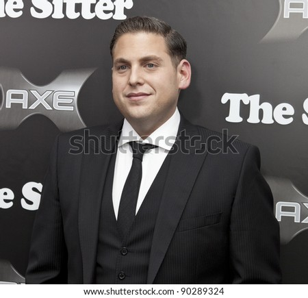 NEW YORK - DECEMBER 06: Actor Jonah Hill attends 'The Sitter' premiere at Chelsea Clearview Cinemas on December 6, 2011 in New York City - stock photo