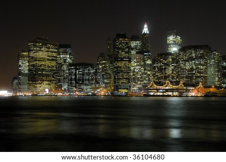 New York Downtown - stock photo