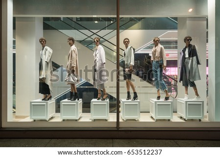 Coles clothing store