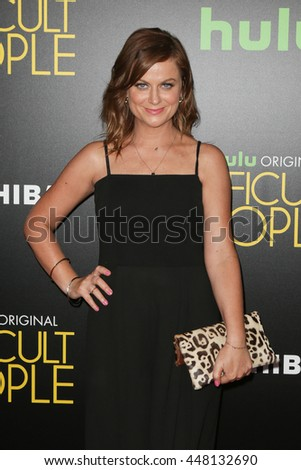 NEW YORK-JUL 30: Actress Amy Poehler attends the Hulu Original Premiere of 'Difficult People' at the SVA Theater on July 30, 2015 in New York City. - stock photo
