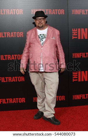 "NEW YORK-JUL 11: Joey Boots attends ""The Infiltrator"" New York premiere at AMC Loews Lincoln Square 13 on July 11, 2016 in New York City."