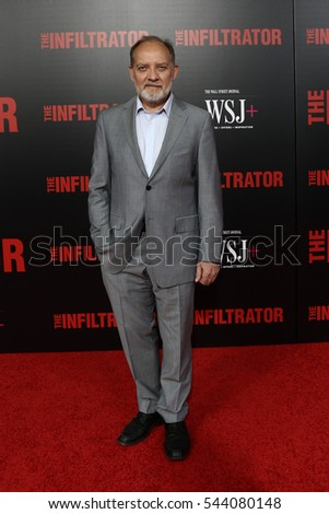 "NEW YORK-JUL 11: Zach Grenier attends ""The Infiltrator"" New York premiere at AMC Loews Lincoln Square 13 on July 11, 2016 in New York City."