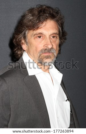 "NEW YORK - July 30, 2012: Dennis Boutsikaris attends the premiere of ""The Bourne Legacy"" at the Ziegfeld Theater on July 30, 2012 in New York City. - stock photo"