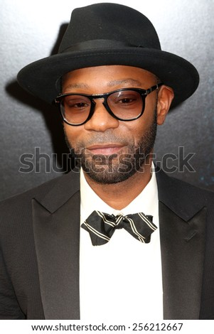 "NEW YORK - JULY 21, 2014: Nelsan Ellis attends the premiere of ""Get On Up"" at the Apollo Theater on July 21, 2014 in New York City."