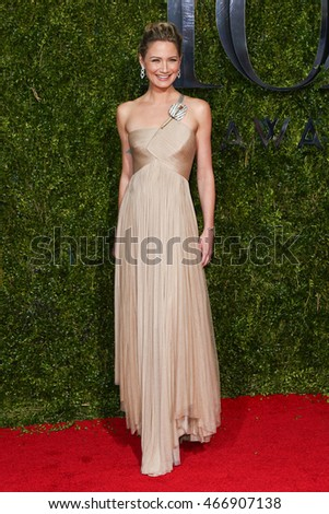 NEW YORK-JUN 7: Singer Jennifer Nettles attends American Theatre Wing's 69th Annual Tony Awards at Radio City Music Hall on June 7, 2015 in New York City.