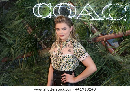 NEW YORK-JUNE 22: Chloe Grace Moretz attends the 2016 Coach And Friends Of The High Line Summer Party at The High Line on June 22, 2016 in New York City.
