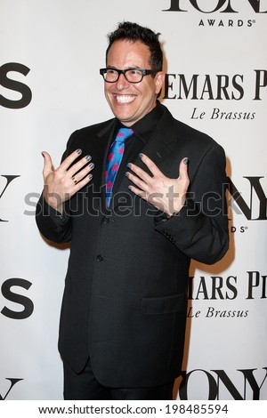 NEW YORK-JUNE 8: Director Michael Mayer attends American Theatre Wing's 68th Annual Tony Awards at Radio City Music Hall on June 8, 2014 in New York City. - stock photo