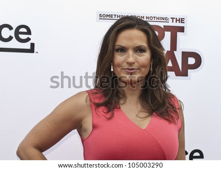 NEW YORK - JUNE 12: Mariska Hargitay attends the 'Something For Nothing: The Art Of Rap' screening at Alice Tully Hall, Lincoln Center on June 12, 2012 in New York City. - stock photo