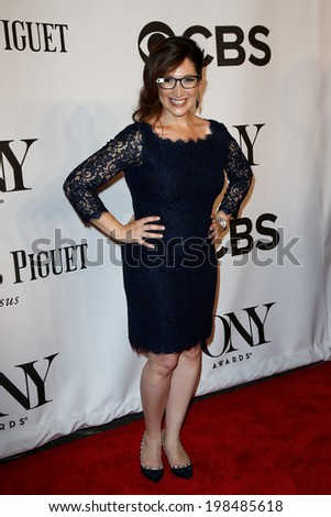 NEW YORK-JUNE 8: Randi Zuckerberg attends American Theatre Wing's 68th Annual Tony Awards at Radio City Music Hall on June 8, 2014 in New York City. - stock photo