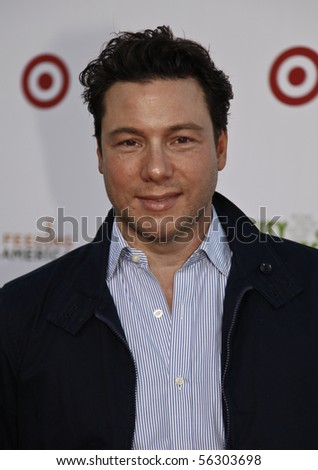 NEW YORK - JUNE 29: Rocco DiSpirito attends 'Target Party for Good' as part of the 2010 National Conference on Volunteering on Pier 36 South Street on June 29, 2010 in New York City - stock photo