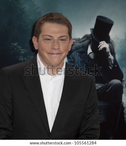 NEW YORK - JUNE 18: Seth Grahame-Smith attends premiere of Abraham Lincoln: Vampire Hunter at AMC Loews Lincoln Square on June 18 2012 in New York - stock photo