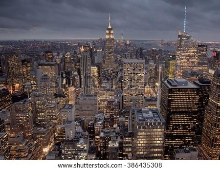 New York Manhattan - stock photo
