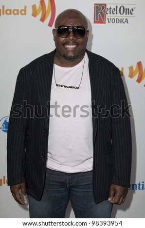 NEW YORK - MARCH 24: Corey Craig attends the 23rd Annual GLAAD Media Awards presented by Ketel One and Wells Fargo at Marriott Marquis Theater on March 24, 2012 in New York City. - stock photo