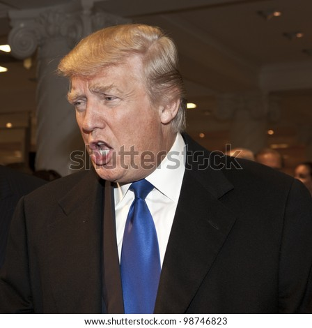 NEW YORK - MARCH 28: Donald Trump attends the Ivanka Trump New Ready-To-Wear Collection launch at Lord & Taylor on March 28, 2012 in New York City.
