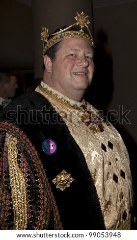 NEW YORK - MARCH 31: Emperor XVI Craig Holywood attends the 26th annual Night Of A Thousand Gowns at the Marriott Marquis Times Square on March 31, 2012 in New York City - stock photo